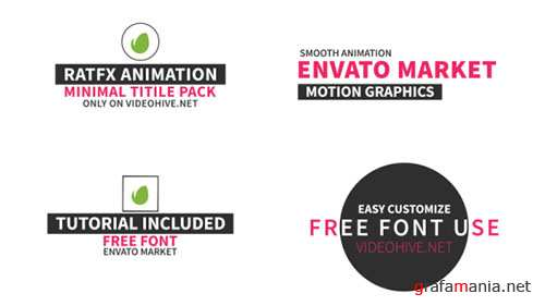 40 Title Pack - Project for After Effects (Videohive)