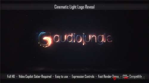 Cinematic Light Logo Reveal - After Effects Project (Videohive)