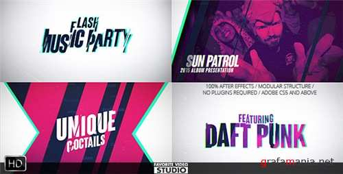 Flash Music Event - After Effects Project (Videohive)