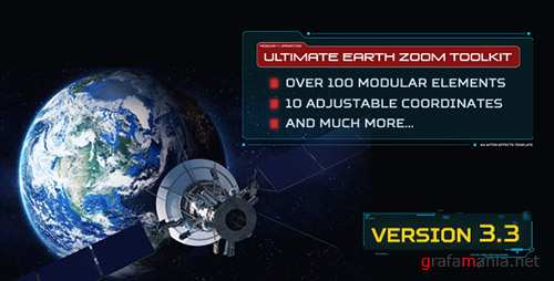 Ultimate Earth Zoom Toolkit V3.3 - Project for After Effects (Videohive)