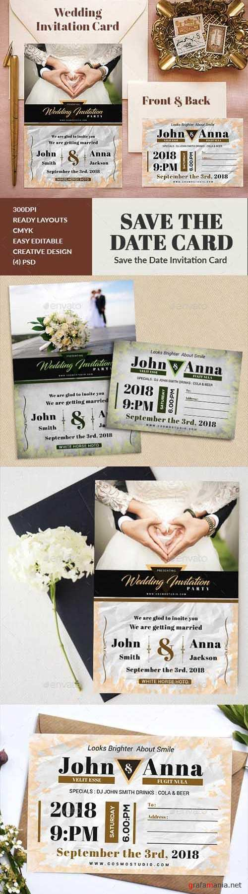 Wedding Invitation 20414567