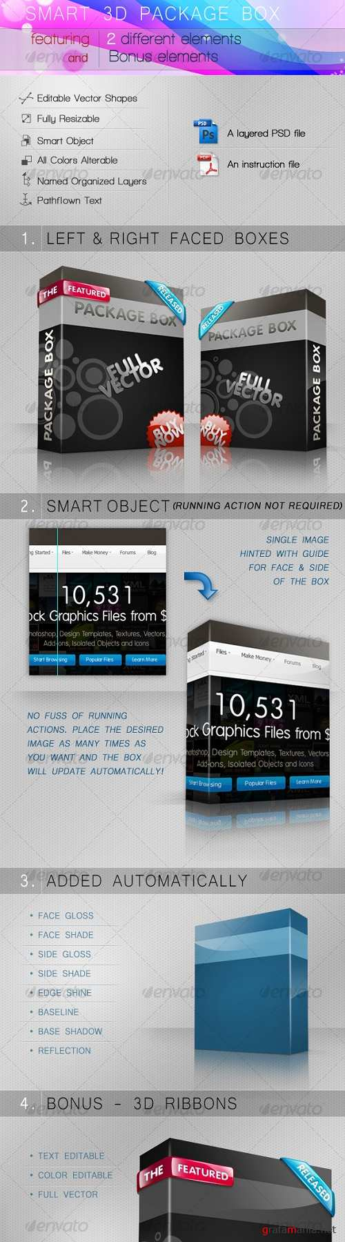 Smart 3D Package Box 92367
