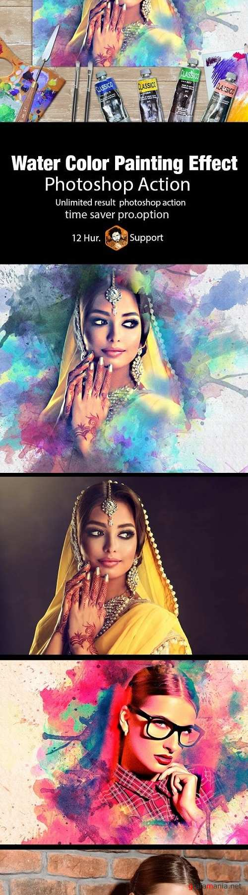 Water Color Painting Effect 20413874