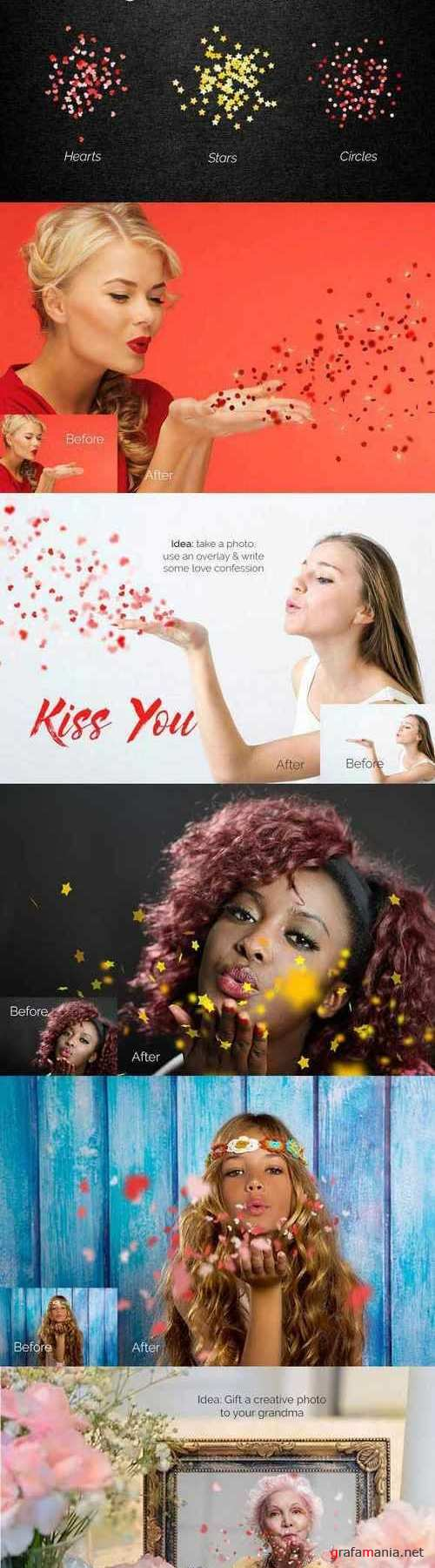 28 Blowing kisses Photoshop Overlays 1721357