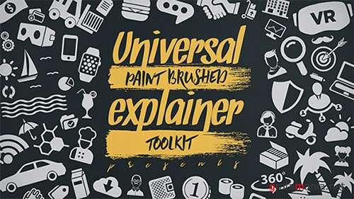 Universal Paint Brushed Explainer Toolkit - Project for After Effects (Videohive)