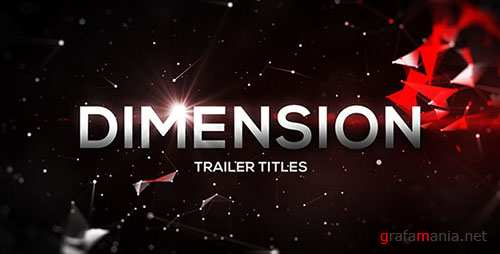 Dimension Trailer Titles - Project for After Effects (Videohive)