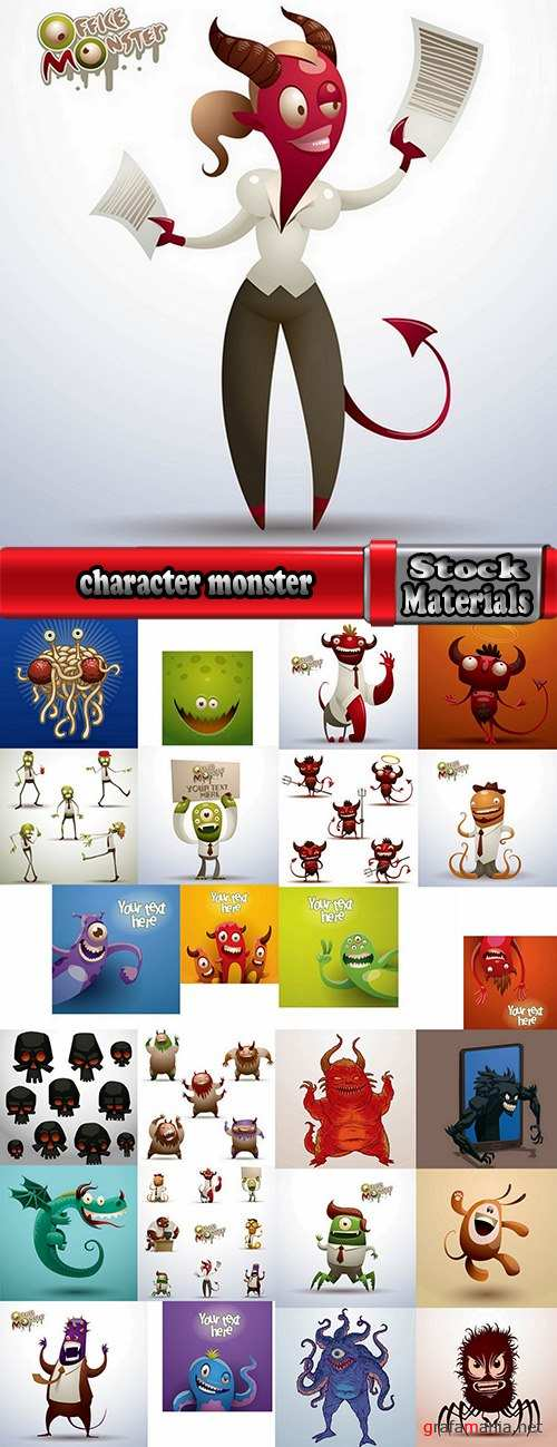 character picture funny monster alien beast 25 eps