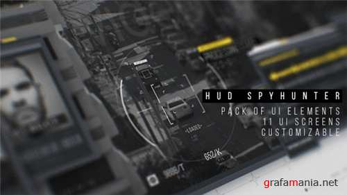 HUD SpyHunter - After Effects Project (Videohive)