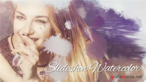 Slideshow Watercolor - After Effects Project (Videohive)