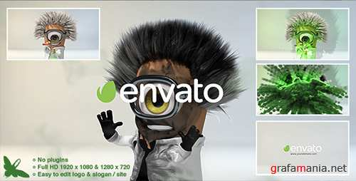 Mad Scientist Logo - Project for After Effects (Videohive)