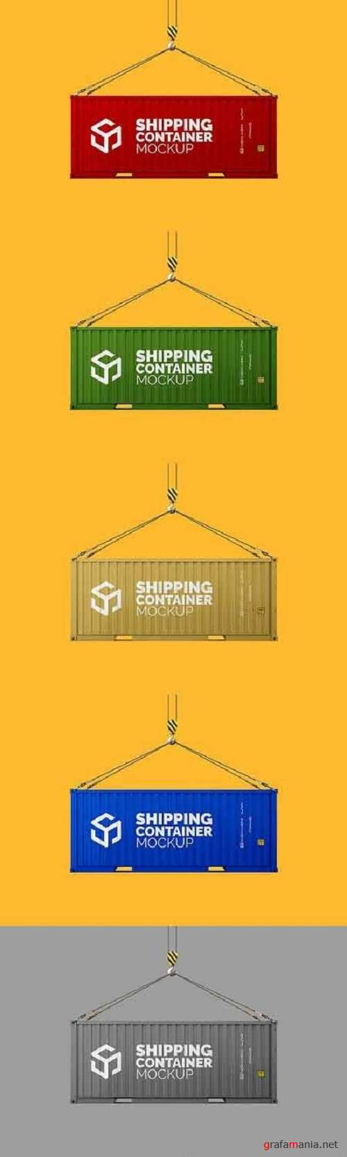 Shipping Container Mockup 1828174