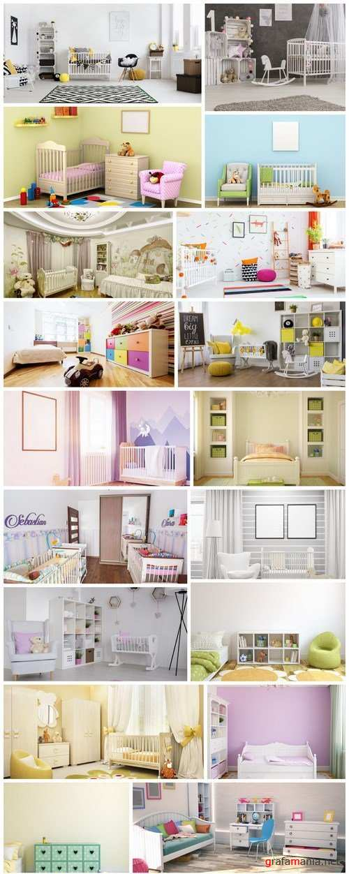 Baby Room Interior - 20 HQ Images