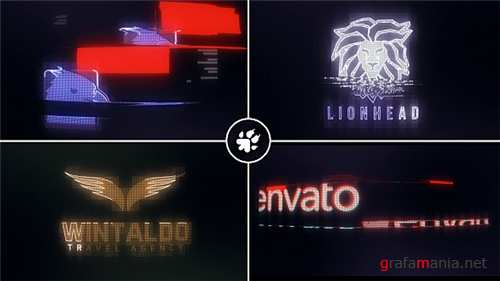 Digital Glitch Logo 18071984 - After Effects Project (Videohive)
