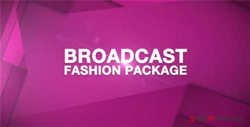Broadcast Fashion Package - After Effects Project (Videohive)