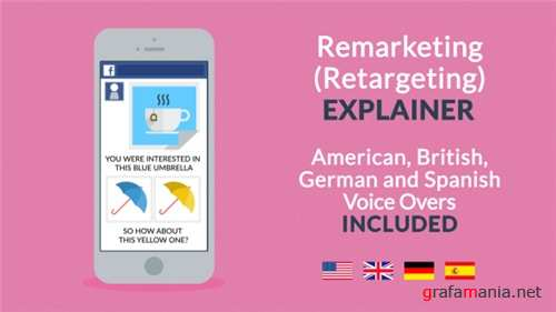 Remarketing / Retargeting Explainer - After Effects Project (Videohive)