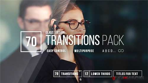 Transitions 20420492 - After Effects Project (Videohive)