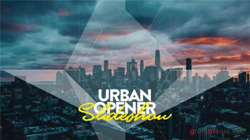 Urban Opener I Slideshow - After Effects Project (Videohive)