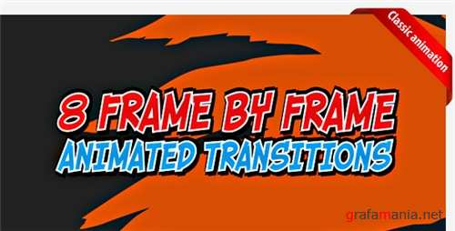 Cartoon transitions - After Effects Project (Videohive)