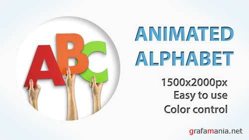 Paper Alphabet - After Effects Project (Videohive)
