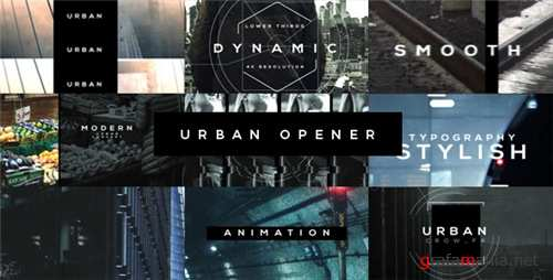 Urban Opener 20537773 - After Effects Project (Videohive)