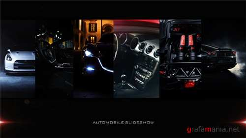 Car Slideshow - After Effects Project (Videohive)