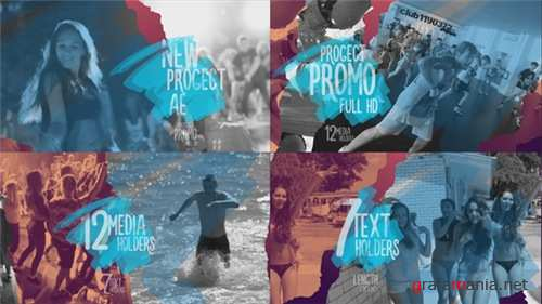 Promo Torn Sheets - After Effects Project (Videohive)