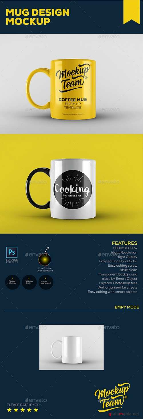 Mug Mock-up Template 20658143