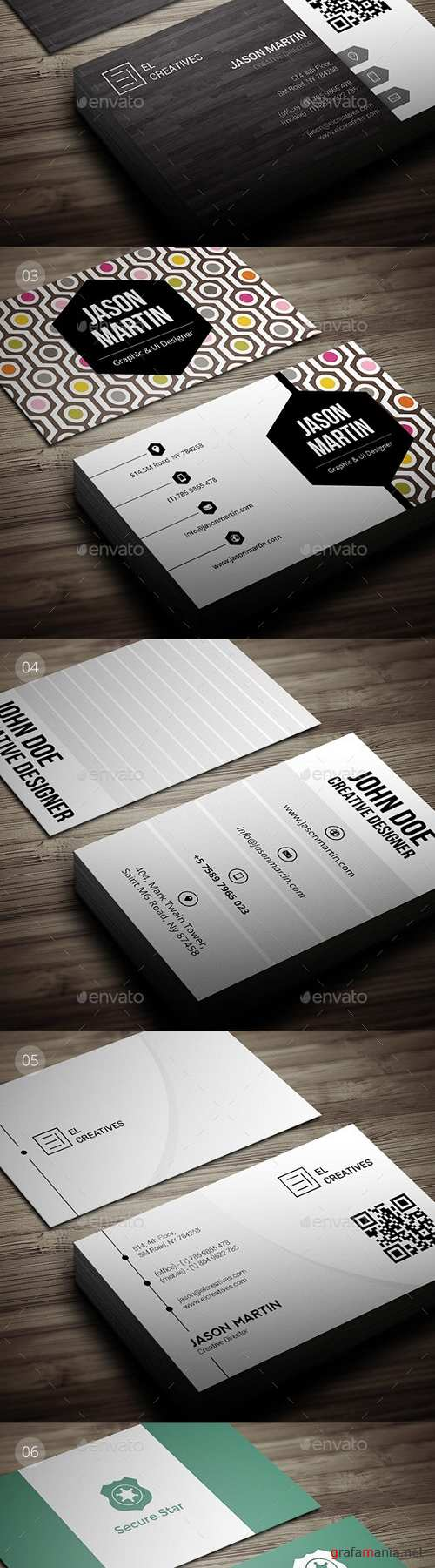 Bundle - Pro 6 in 1 - Creative Business Cards - B48 20602468