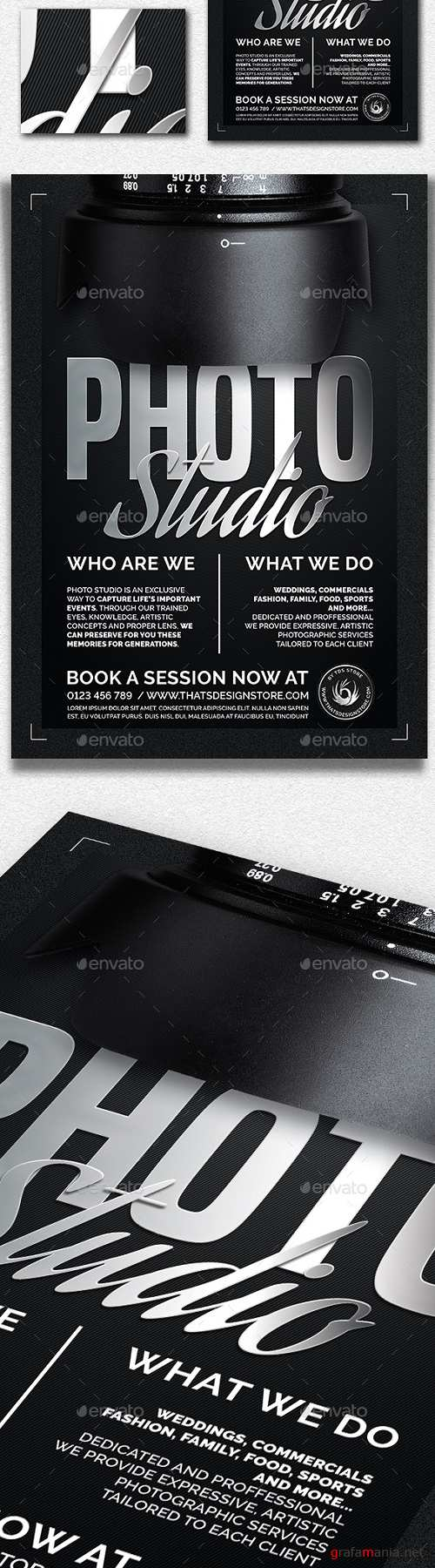 Photo Studio Flyer Template V2 20635406