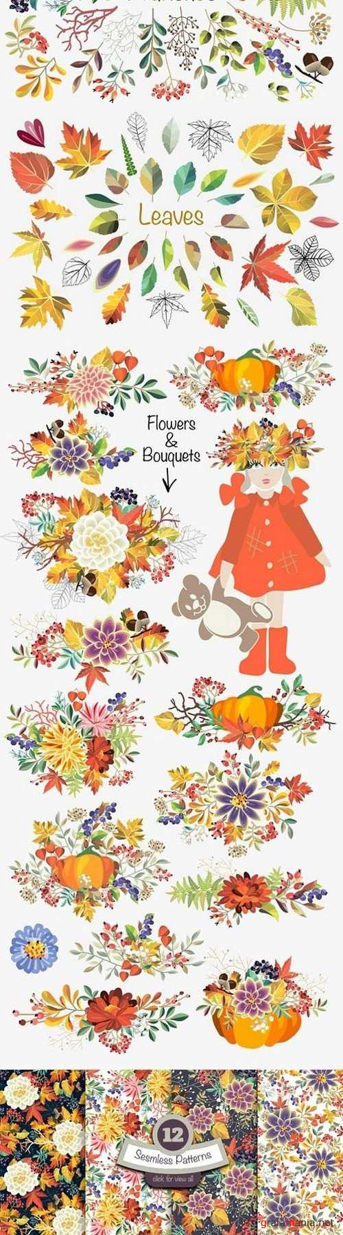 Autumn vector set 1772973