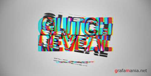 Glitch Reveal 3536292 - Project for After Effects (Videohive)