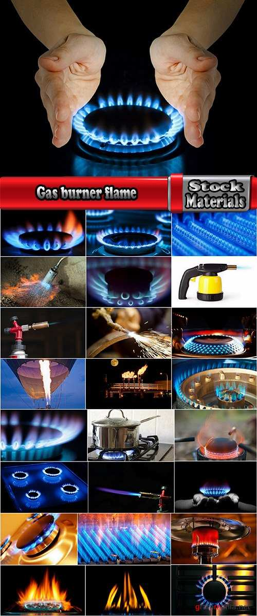 Gas burner flame cooking zone stove fire background is 25 HQ Jpeg
