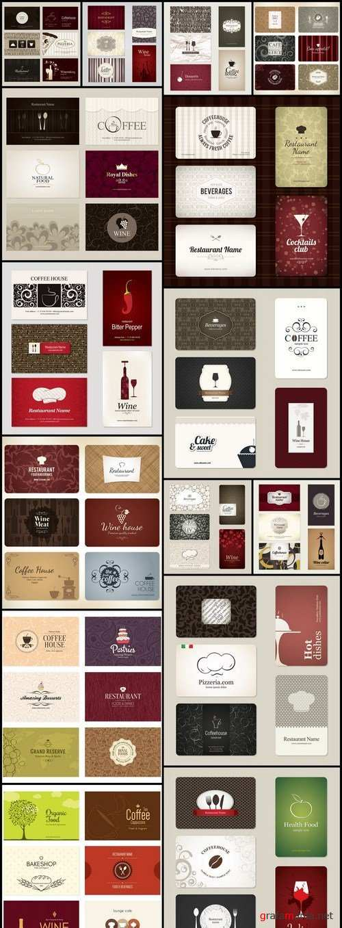 Restaurant Business Cards