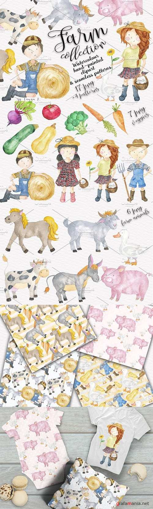 Farm Animals Kids Collection 1387496