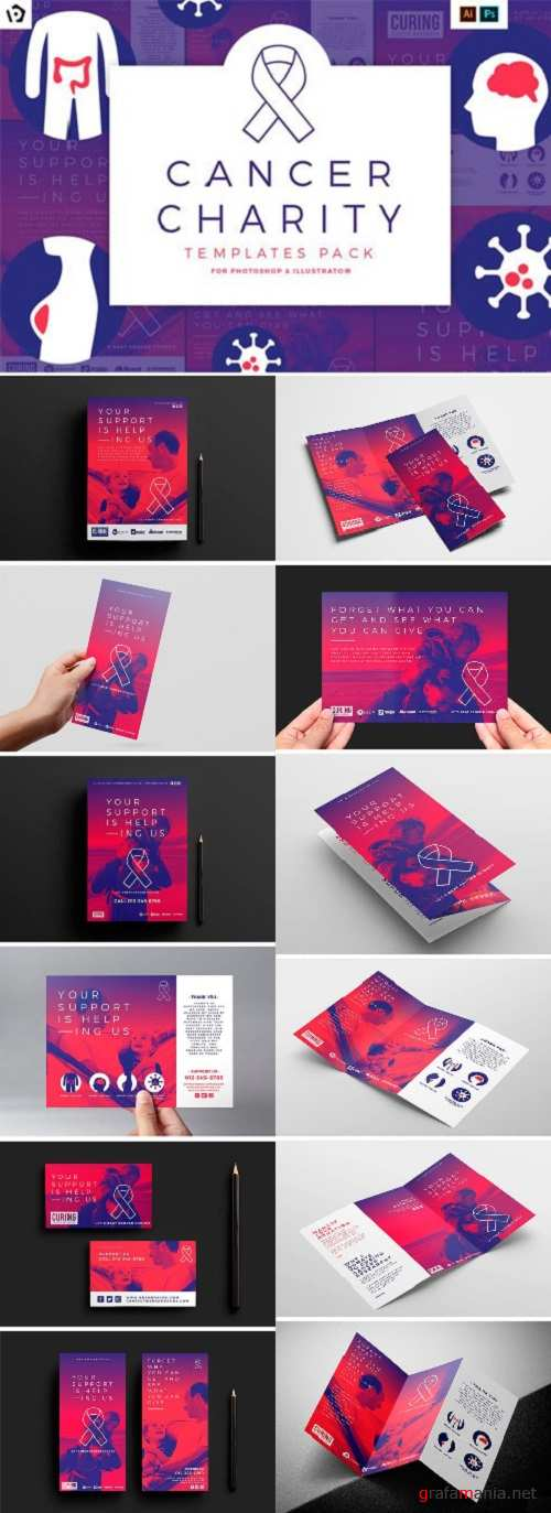 Cancer Charity Templates Pack 1880741