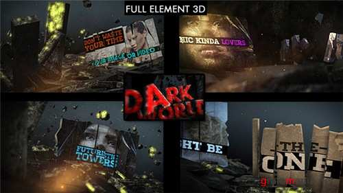 Dark World Opener - After Effects Project (Videohive)