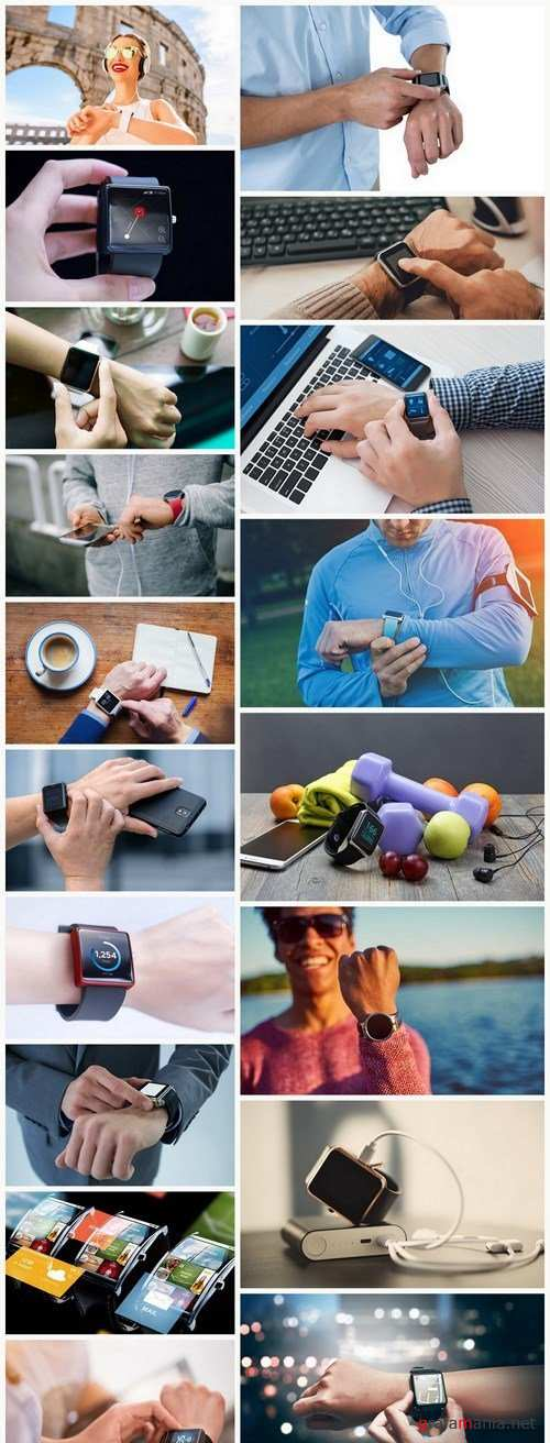Smart Watch On Hand - 18 HQ Images