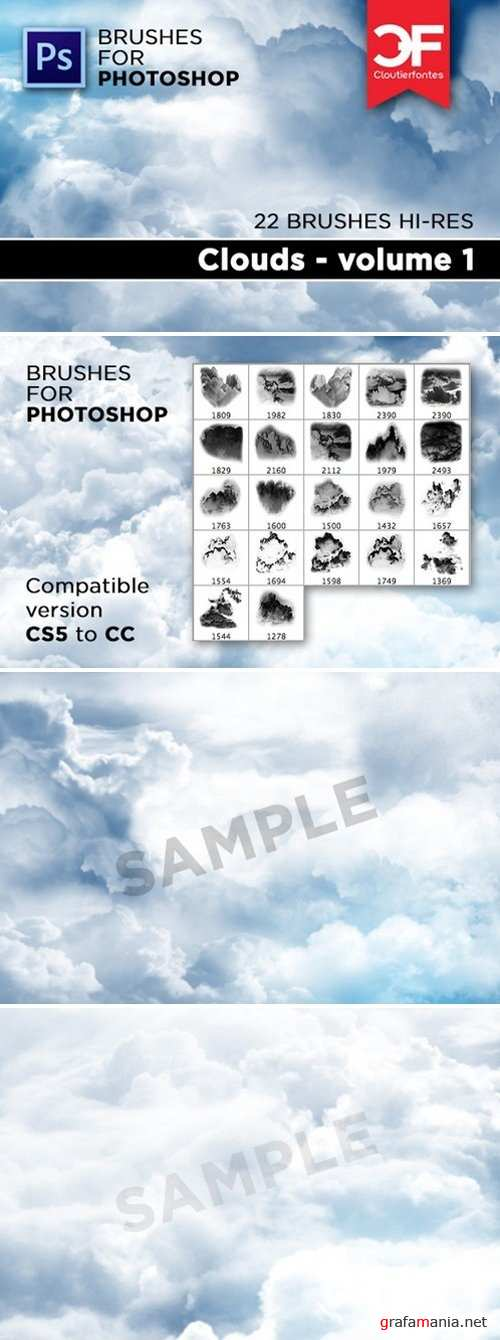 Clouds brushes Volume 1 270815