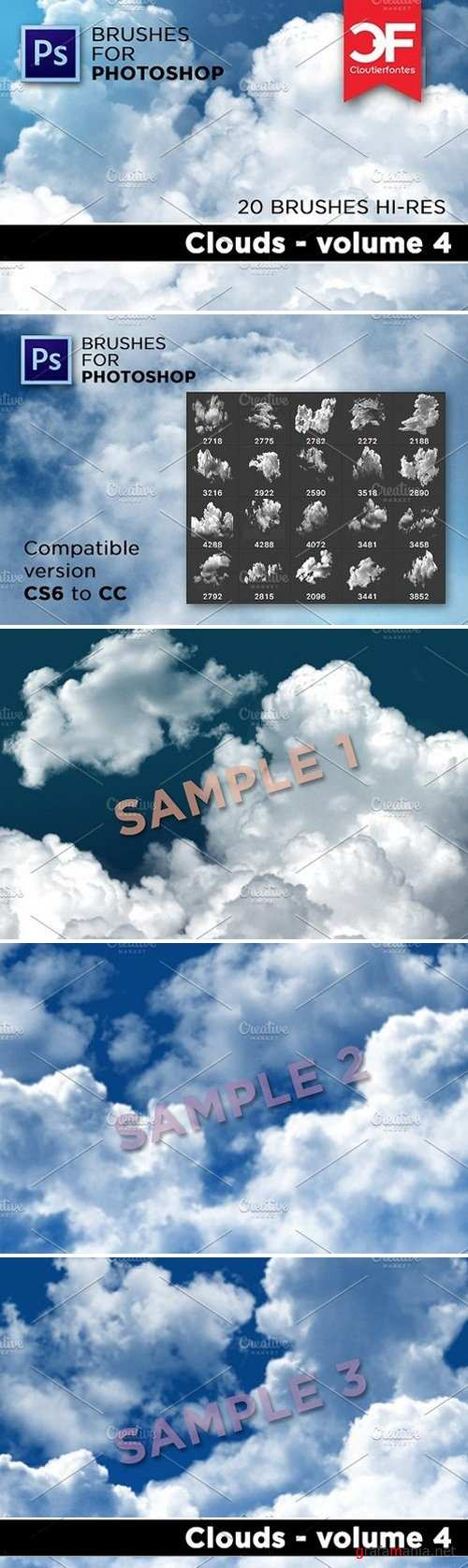 Clouds brushes Volume 4 1853489