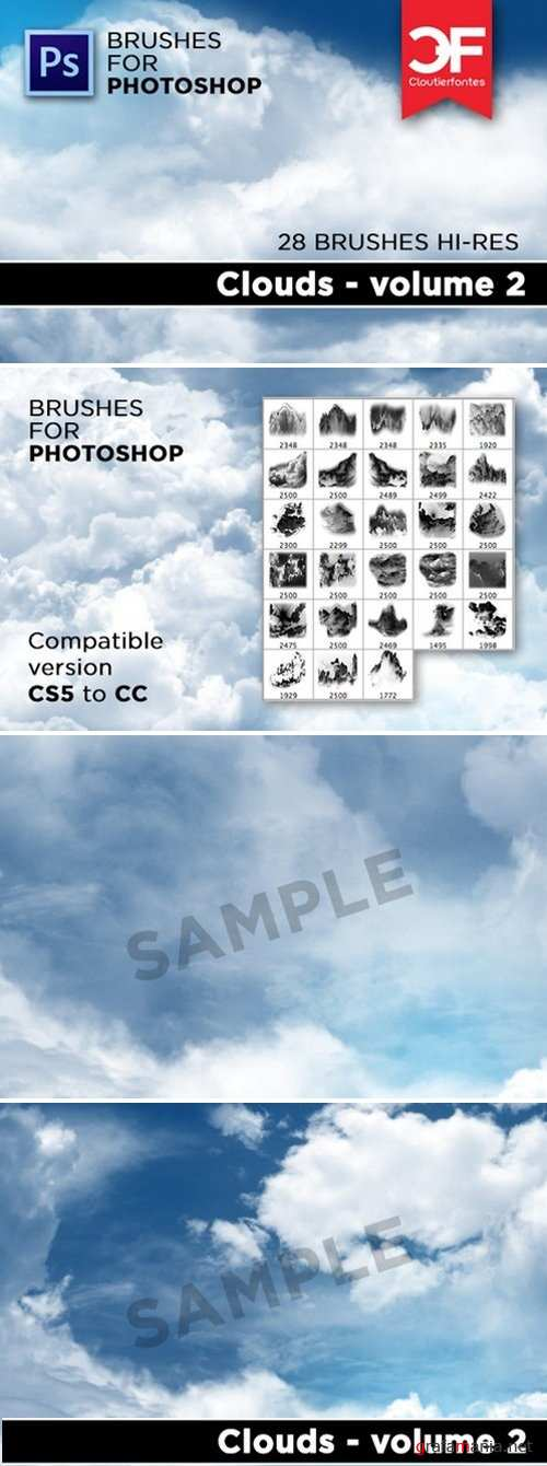 Clouds brushes Volume 2 270822