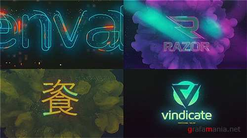 Cyberpunk Glitch Logo Reveal - After Effects Project (Videohive)