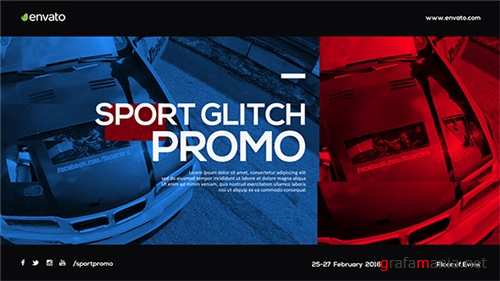 Sport Glitch Promo - After Effects Project (Videohive)