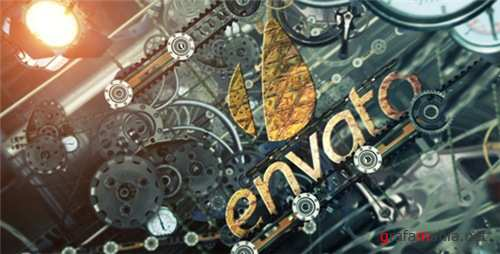Mechanical Logo Reveal - After Effects Project (Videohive)