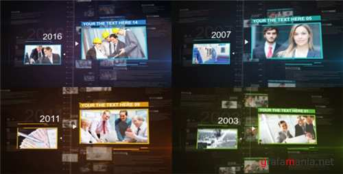History Motion Promo - After Effects Project (Videohive)