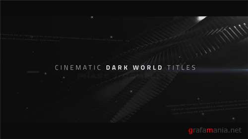Cinematic Titles - Dark World - After Effects Project (Videohive)