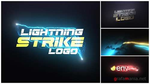 Lightning Strike Logo - Project for After Effects (Videohive)