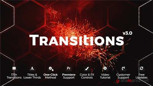 Transitions 20139771 - After Effects Project (Videohive)