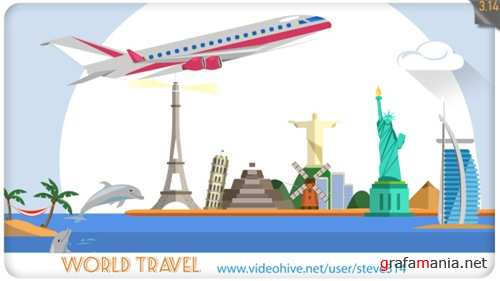 World Travel - After Effects Project (Videohive)