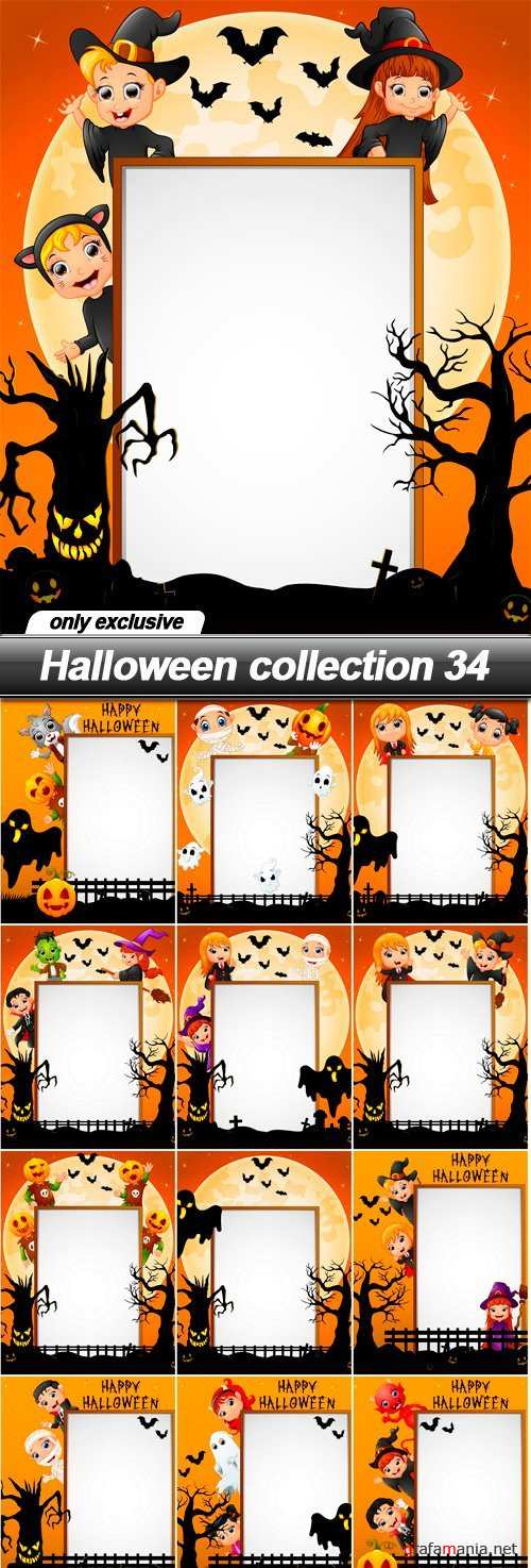 Halloween collection 34 - 13 EPS