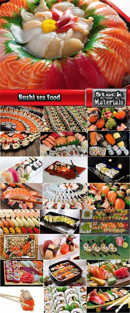 Sushi sea food rice seaweed caviar 25 HQ Jpeg